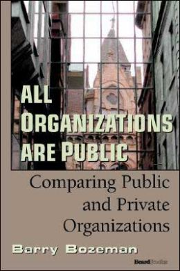 All Organizations Are Public