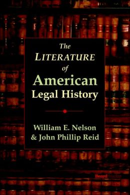 Literature of American Legal History