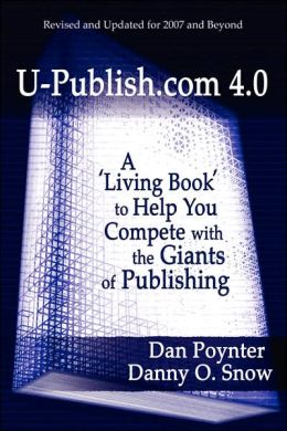 U-Publish COM 4 0: A 'Living Book' to Help You Compete with the Giants of Publishing
