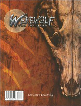 Werewolf the Forsaken: Character Sheet Pad