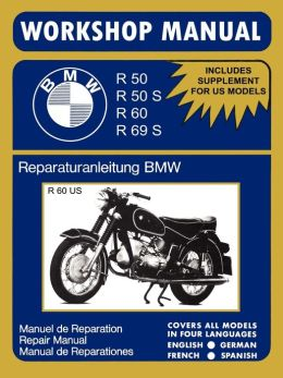 Bmw Motorcycles Workshop Manual R50 R50s R60 R69s
