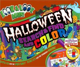 Halloween Search & Find and Color (Look & Look Again Series)