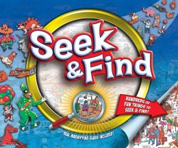 Seek & Find 10'' by 12'' Magnifying Glass