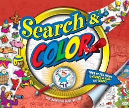 Search & Color 10'' by 12'' Magnifying Glass