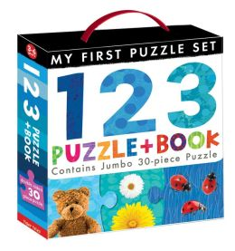 123 Puzzle and Book Set