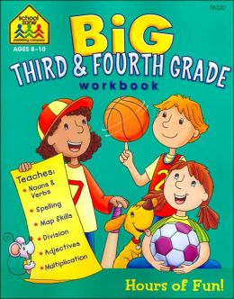 Big Third & Fourth Grade Workbook (Big Get Ready Books Series)
