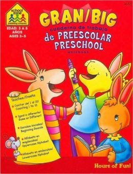 Big Preschool Workbook (Gran cuaderno de trabajo de preescolar)