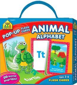 ANIMALS ALPHABET POP-UP FLASH CARDS