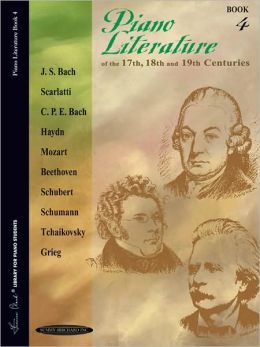 Piano Literature of the 17th, 18th and 19th Centuries Alfred Publishing