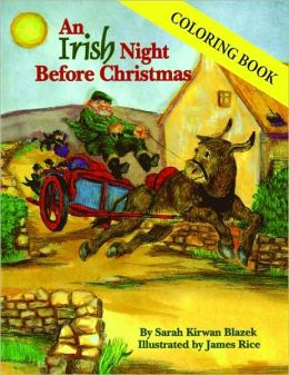 An Irish Night Before Christmas Coloring Book