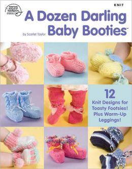 A Dozen Darling Baby Booties