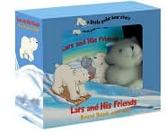 Lars and His Friends Board Book and Clip-on Doll