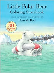 Little Polar Bear Coloring Storybook