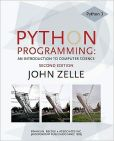 Book Cover Image. Title: Python Programming:  An Introduction to Computer Science, Author: John M. Zelle