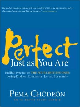 Perfect Just as You Are: Buddhist Practices on the Four Limitless Ones--Loving-Kindness, Compassion, Joy, and Equanimity
