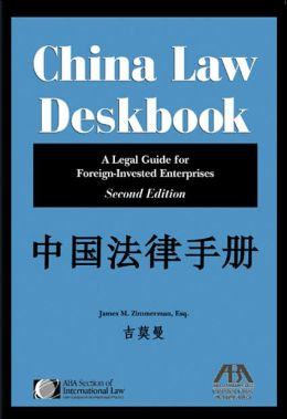 China Law Deskbook