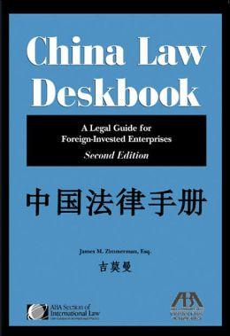 China Law Deskbook