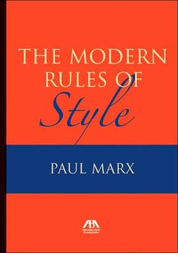 Modern Rules of Style