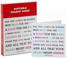 Irish Blessing Christmas Boxed Card