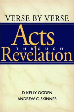 Verse by Verse, Acts Through Revelation