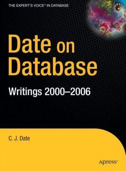 Date on Database: Writings 2000-2006