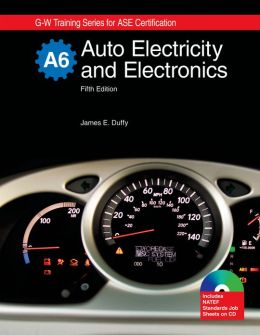 Auto Electricity and Electronics, A6 : Textbook W/ Job Sheets on Cd