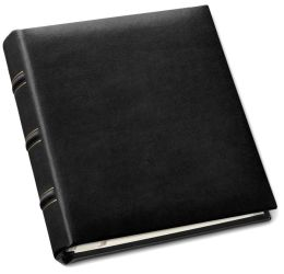 Black Bonded Leather Travel Photo Album