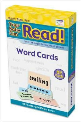 Your Baby Can Read: 82 Word Cards