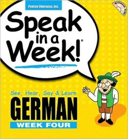 Speak in a Week: German Week 4
