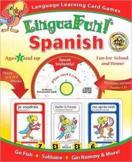 LinguaFun! Spanish Language Learning Card Games
