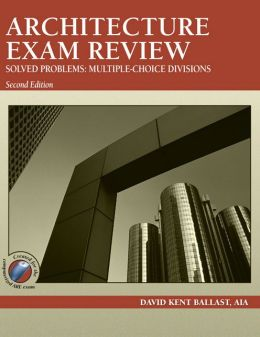 Architecture Exam Review, Solved Problems: Multiple-Choice Divisions