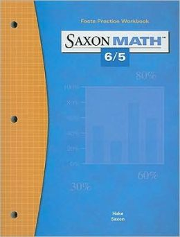 Saxon Math 6/5 Facts Practice Work Book