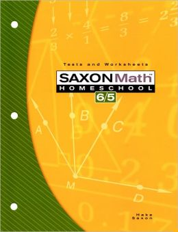 Saxon Math 6/5, 3rd Edition Tests & Worksheets