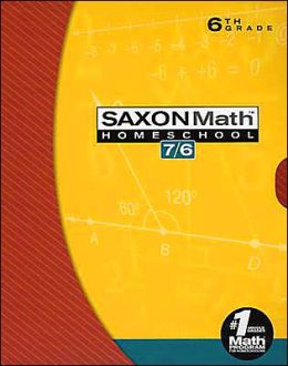 Saxon Math 7/6 Complete Home School Program Kit