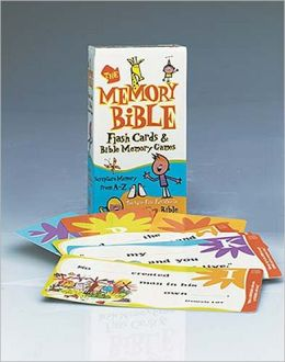 Memory Bible Flash Cards