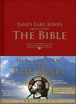 James Earl Jones Reads the Bible New Testament-KJV-Deluxe