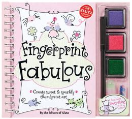 Fingerprint Fabulous: Create sweet and sparkly fingerprint art