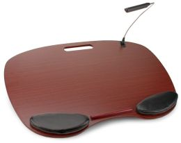 Ergonomic Lap Desk with LED Light