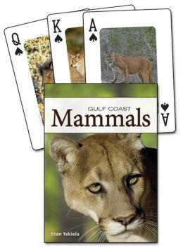 Mammals of the Gulf Coast Playing Cards