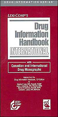 Drug Information Handbook International 2004-2005
