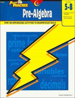 Power Practice Pre-Algebra Grades 5-8(Power Practice Series)