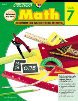 Advantage Math Grade 7: High Interest Skill Building for Home and School