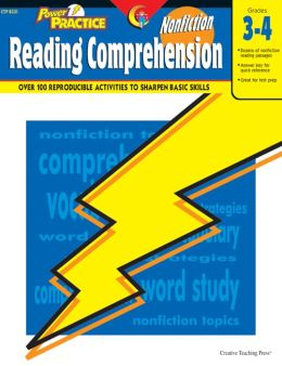 Power Practice Nonfiction Reading Comprehension Grades 3-4
