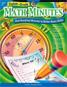 Eight-Grade Math Minutes: One Hundred Minutes to Better Basic Skills