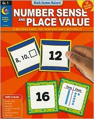 Number Sense and Place Value, Gr. 1 - Math Games Galore