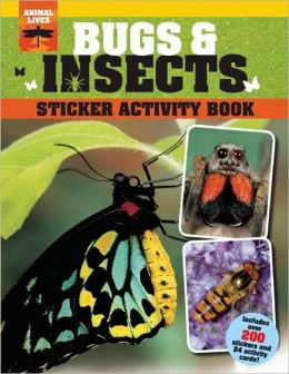 Bugs and Insects Sticker Activity Book