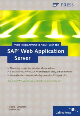 Web Programing in ABAP with the SAP Web Application Server