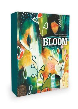 Bloom Note Cards Artwork by Flora Bowley: 16 Assorted Note Cards and Envelopes