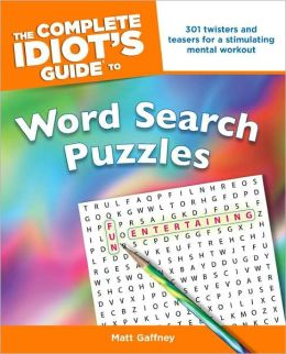 The Complete Idiot's Guide to Word Search Puzzles