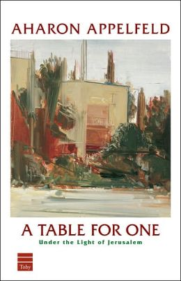 A Table for One: Under the Light of Jerusalem